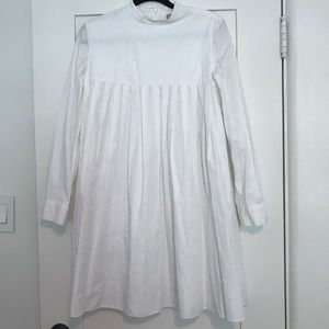 White ASOS Babydoll dress, size 8